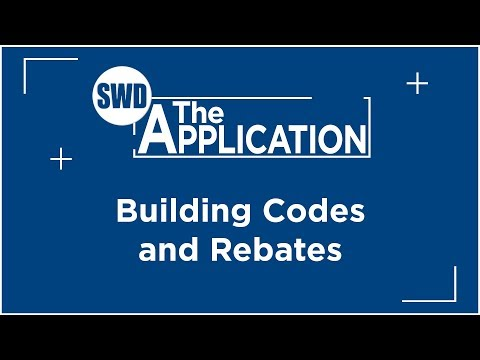 The Application: Building Codes & Rebates w/Marcus DeVere