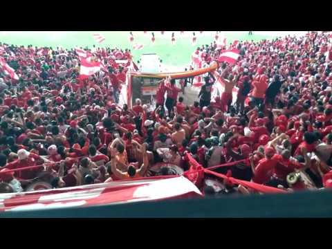 Inter 1 x 0 Figueirense - Camisa Vermelha - Guarda Popular - Guarda Popular do Inter - Internacional