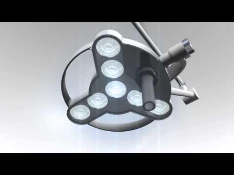 LED Treatment Light Triango