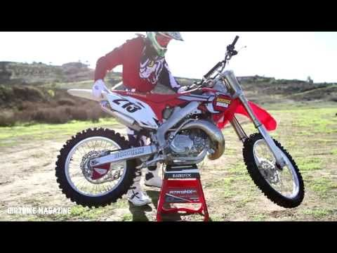 Service Honda CR250 2 Stroke-Dirtbike Magazine