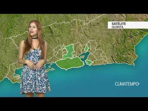 Imagens de calor - Previsão Grande Rio - Muito sol e calor