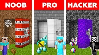 Video Minecraft NOOB vs PRO vs HACKER : SECRET VAULT CHALLENGE in minecraft / Animation MP3, 3GP, MP4, WEBM, AVI, FLV Juni 2019