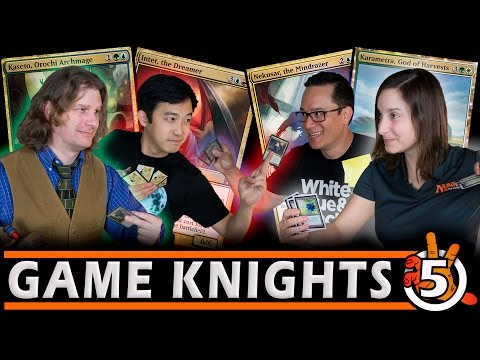 Professor & Melissa Detora L Kaseto, Karametra, Nekusar & Intet L Game Knights #5 Mtg Gameplay