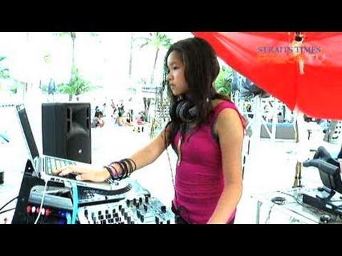 Teenybopper kicks balls (Teenage DJs Pt2)