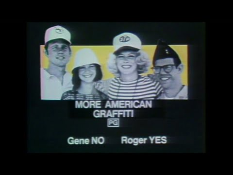 More American Graffiti (1979) movie review - Sneak Previews with Roger Ebert and Gene Siskel