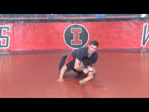 Learn Mark Perry's Leg Throwing Technique! – Wrestling 2015 #47