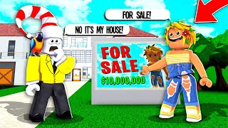 This GOLD DIGGER Put My House Up For Sale.. (Roblox)