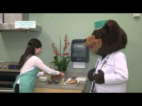 "Video of Preparando ""snacks"" saludables con Dr. Ted E. Bear"