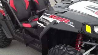 4. 2012 Polaris Ranger RZR S 800 Black/White/Red LE  at Tommy's Motorsports