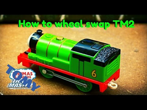 How to change the wheels on Trackmaster 2 engines