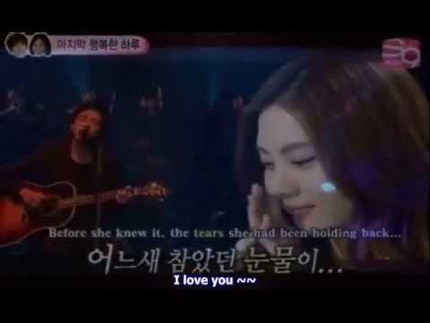 Because I Miss You - Jung YongHwa engsub Yongseo Couple (видео)