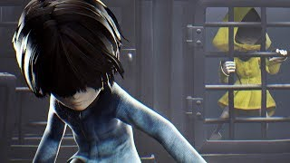 Little Nightmares The Depths DLC Walkthrough Gameplay Part 1 and Ending of Secrets of the Maw Little Nightmares DLC The Depths for PS4 Pro, Xbox One S and PC. Little Nightmares Gameplay Walkthrough will include the Characters, Granny, Six, Hugged Nomes, Smashed Statues, All Chapters, Puzzles, Cut Scenes, Cinematics, Good Ending, Bad Ending, Monsters, Jump Scares and the Ending of the Single Player Story Campaign. Subscribe: http://www.youtube.com/subscription_center?add_user=theradbradTwitter: http://twitter.com//thaRadBradFacebook: http://www.facebook.com/theRadBradLittle Nightmares is a puzzle-platformer horror adventure game developed by Tarsier Studios and published by Bandai Namco Entertainment for Microsoft Windows, PlayStation 4 and Xbox One.A nine-year-old hungry girl named Six is trapped in The Maw – a surreal underwater resort catering to the whims of sick and powerful fictional creatures. When an unexpected twist of fate offers her a chance at freedom, Six takes a journey through the bizarre and unpredictable world of The Maw, and catches a glimpse at the corrupt heart of modern happiness.