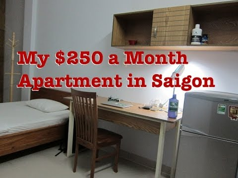 250 USD Per Month, Ho Chi Minh City, Vietnam, Apartment