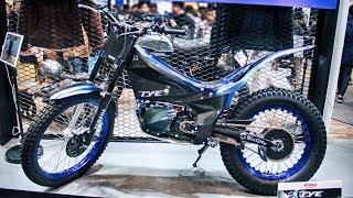 7. YAMAHA TY-E Electric Trials Bike 2018