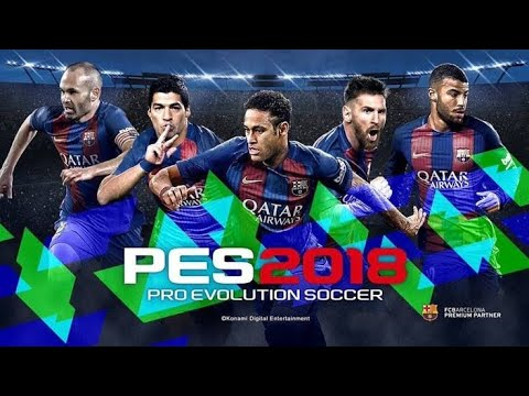 PES 2018 Mobile 300 MB Apk+Data Offline
