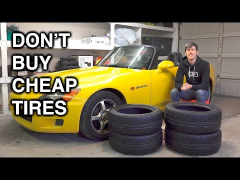 This Guy Shows Why You Should Never Go Cheap on Tires