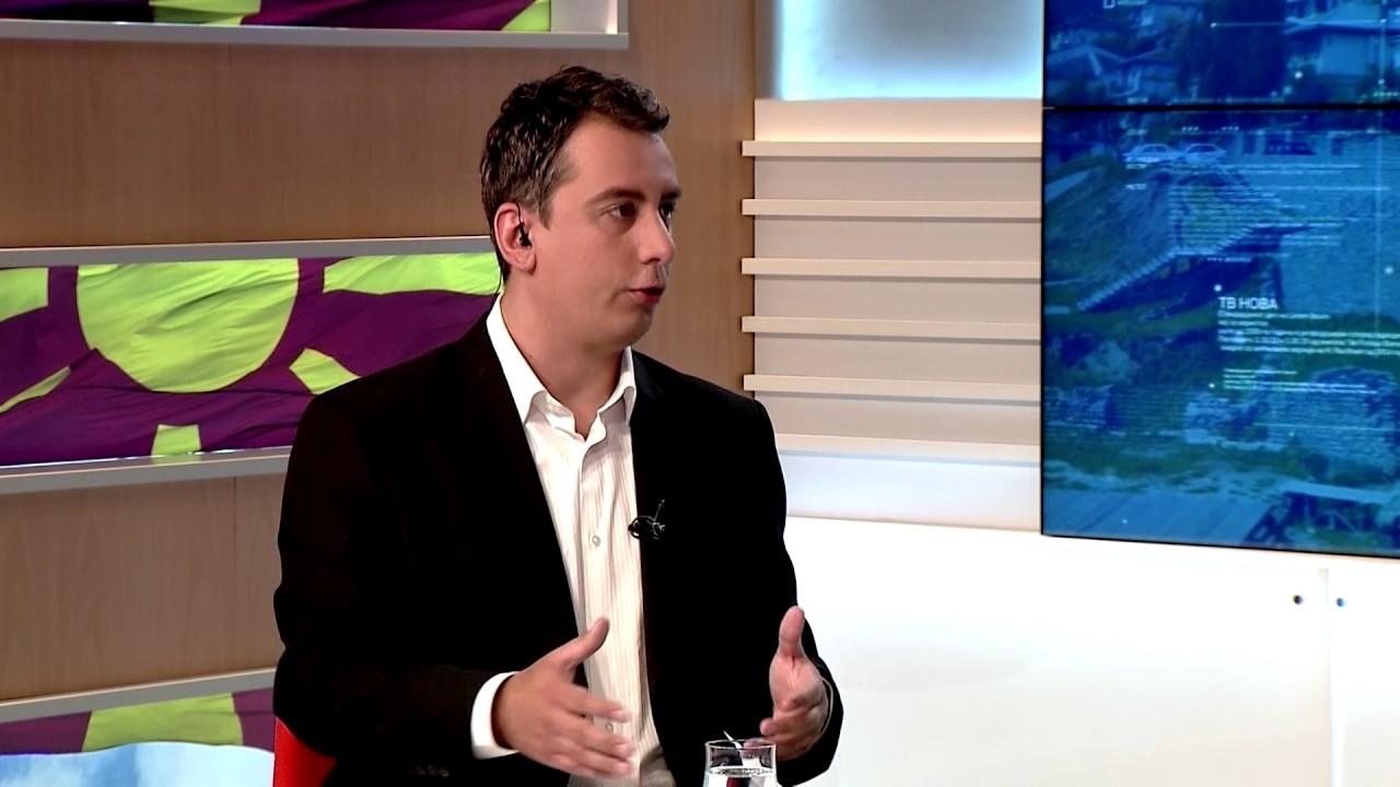 Антонио Милошоски гостин во вестите на ТВ Нова