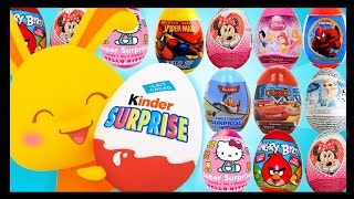 Kinder (LA) United States  city pictures gallery : Oeufs surprises - 1h30 de surprises kinder - La compilation - Titounis - Eggs surprises