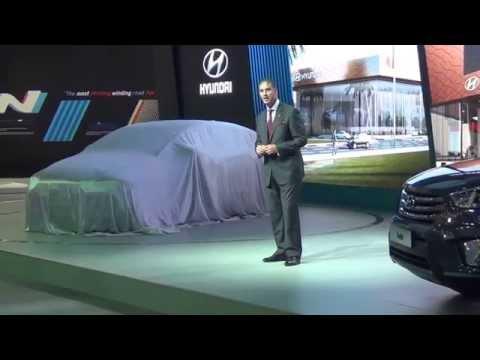 Hyundai - Dubai International Motor Show 2015