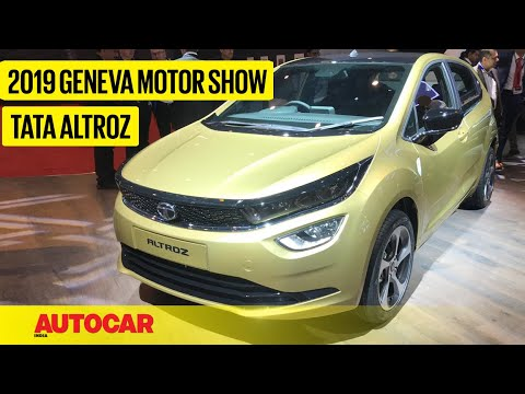 Download Tata Altroz - First Look Preview | Geneva Motor Show 2019 | Autocar India HD Mp4 3GP Video and MP3