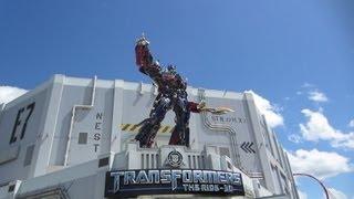 TRANSFORMERS: The Ride--3D On-Ride POV Universal Orlando Resort
