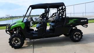 10. $14,299:  2017 Arctic Cat Prowler HDX Crew with Lift, Bumpers, Top and Upgraded Tires
