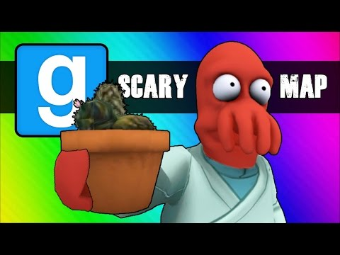 Gmod Scary Map (Not Really) Moments – Follow the Cocktus! (Garry's Mod Funny Moments)