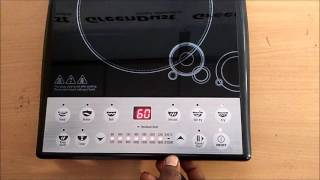 This video is the e-demo and user-manual of the Induction Cooktop in Telugu language from start to end, with all questions answered. So go ahead and get to know about the proper functionality & safely measures to be taken!!Check out this video for more detailed look into the working of your daily appliance - The Induction Cooktop. For any issues or queries, please call us at: 011-6648 9200 or email us anytime: support@greendust.com