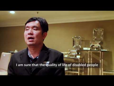 Image of the video: Ekkamol Phaetthayanan: Thailand Association of the Blind TAB