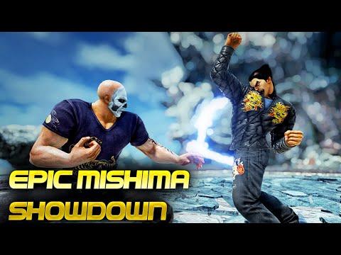 Incredible Father Versus Son Battle... Top Tier Mishima