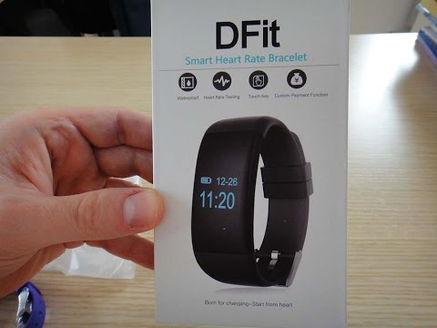 DFit D21 Smart Heart Rate Bracelet