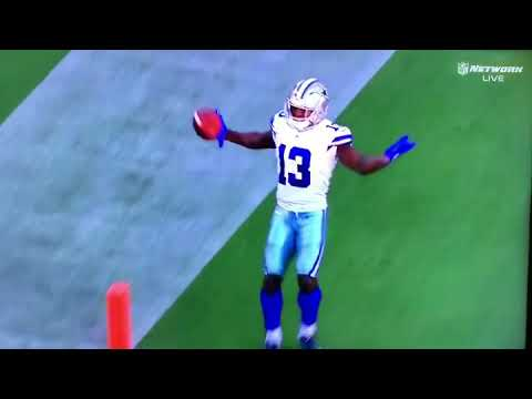 Michael Gallup first Dallas Cowboys TD from Dak Prescott - NFL Preseason 2018
