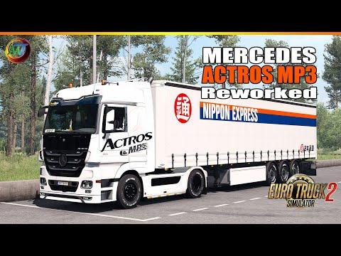 Mercedes Actros MP3 Reworked v3.2 1.37