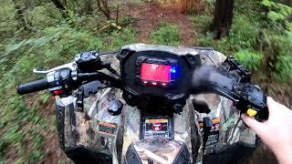 4. 2018 Polaris Sportsman 850 SP - First Go Pro Hero 7 Black Footage