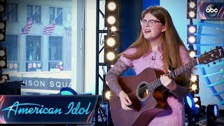 Video Catie Turner Auditions for American Idol With Quirky Original Song - American Idol 2018 on ABC MP3, 3GP, MP4, WEBM, AVI, FLV Juni 2018