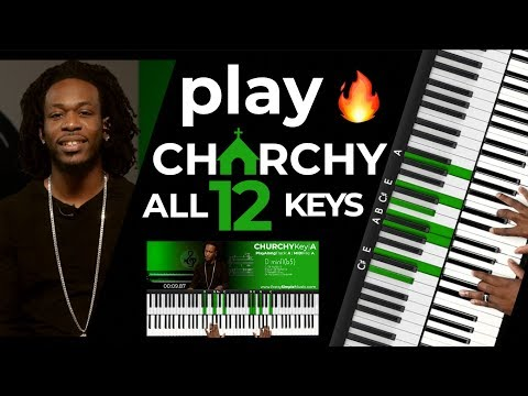 "Play ""churchy"" In All 12 Keys!!! 🔥 Ultimate Congregational Medley"