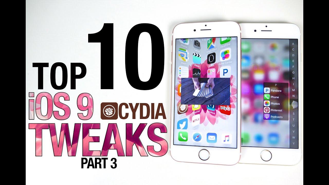 Top 10 iOS 9 Cydia Tweaks Part 3 – 9.0.2 Pangu Compatible
