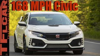 2017 Honda Civic Type R Review: With A Top Speed Of 168 MPH The Fastest Civic Ever!