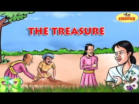 The Treasure || Old Man and His Son || English Moral Story For Kids