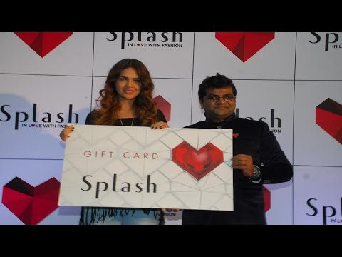 Esha Gupta At Splash Store Launch