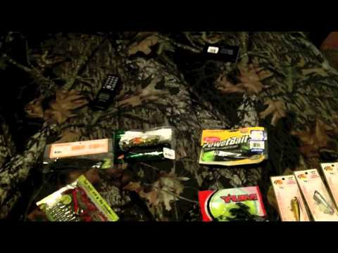 Bass Pro Trip ( Tackle and rod and reel)