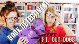 BOOK DETECTIVES! (FT. Lindsay & PUPPIES!)