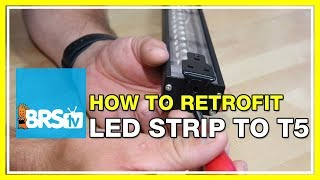 How to add Reef Brite LEDs to ATI Sunpower Lights - BRStv How-To