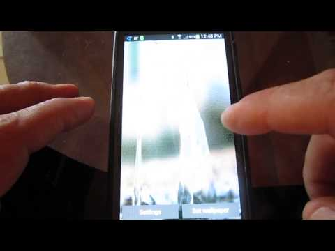 Video of Water Live Wallpaper