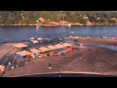 Vôo de Helicóptero no Araguaia em Bandeirantes-GO