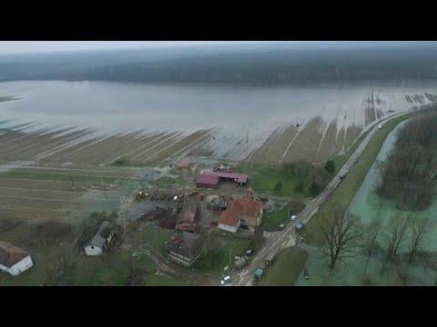 """Kroatien: """"Land unter"""" in ganzen Landstrichen nach  ..."""