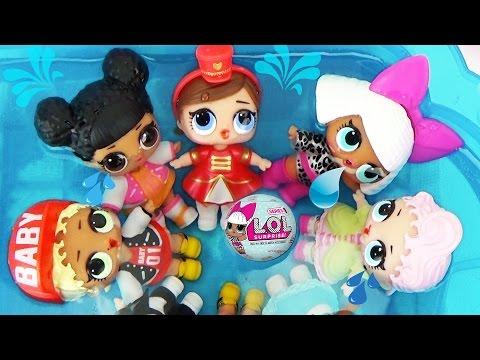 Куклы ЛОЛ СЮРПРИЗЫ 2 Малышки меняют цвет Шарики с пупсами L.O.L. Sur… видео