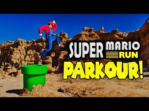 Super Mario Parkour in Real Life