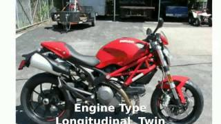 10. 2010 Ducati Monster 796 ABS - Review & Walkaround [motosheets]