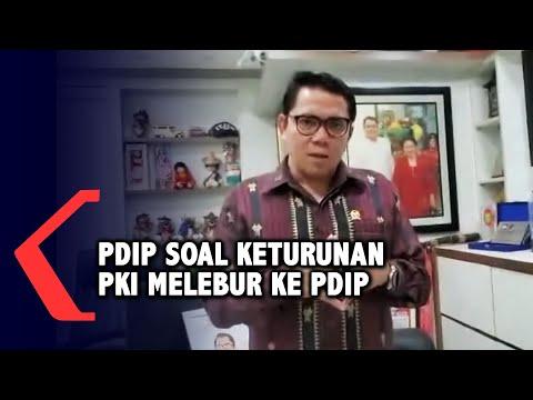 Ada Keturunan PKI Melebur PDIP,  Arteria Dahlan: PDIP Parpol Terbuka